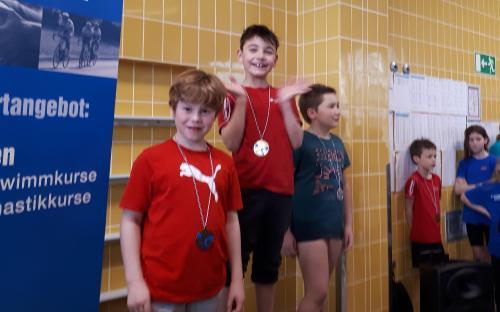 Schwelmer Frühjahrs-Schwimmfest - Siegerehrung