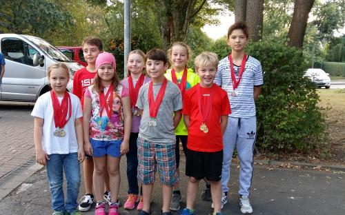Wettkampfmannschaft beim 20. Aplerbecker Sprintpokal